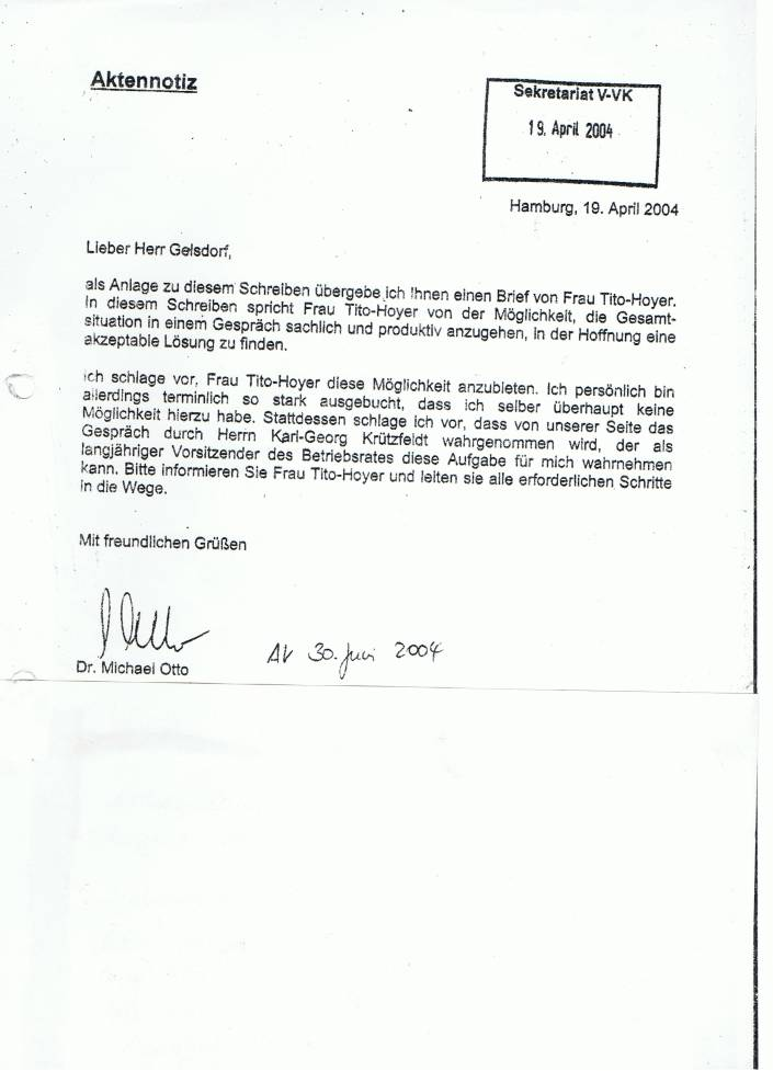 Brief Von Otto : Ruinierte otto shop partner nach meinen recherchen zum