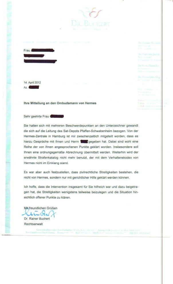 Leere Worte, aber keine Hilfe für betrogene Subunternehmerin vom Ombudsmann