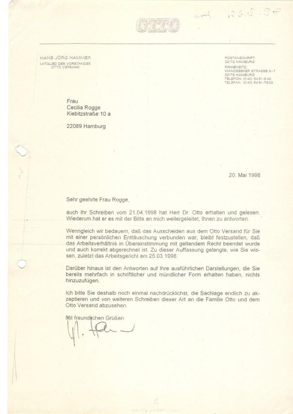 Anlage zum Brief Cäcilia an Dr Michael Otto013