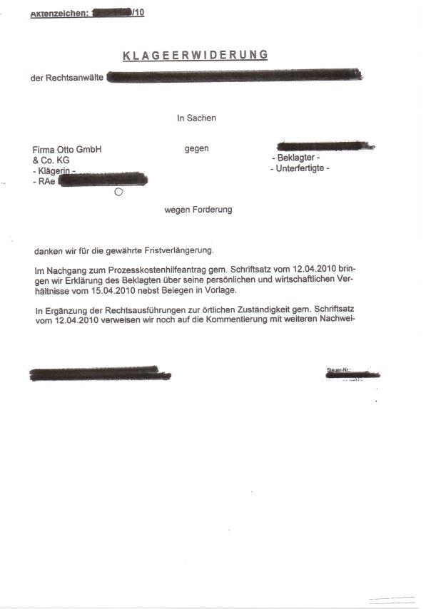 Anwalt vertritt Otto Geschädigten 1