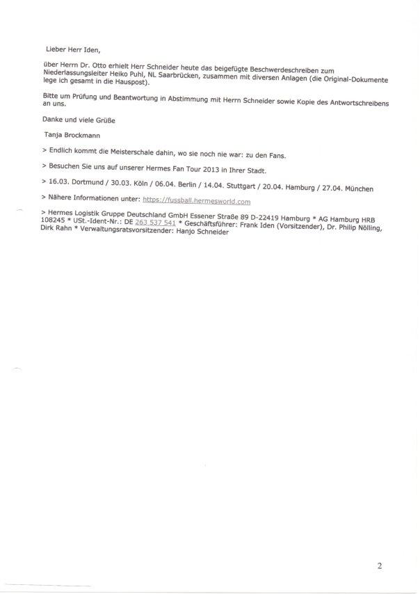 interne Vorstandsmail HLG über Erkan Meydan 2