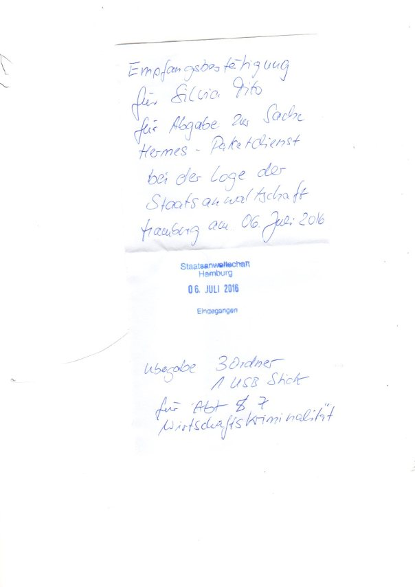 Tito Anzeige gegen HLG Führungskraft