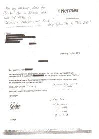 Anlage zur Schwarzgeldaffäre Dirk Rahn und Berater Hermes