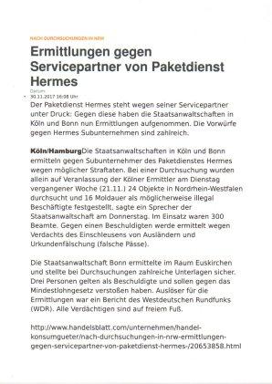 Ermittlungen gegen Hermes Sat nach WDR Recherche NRW